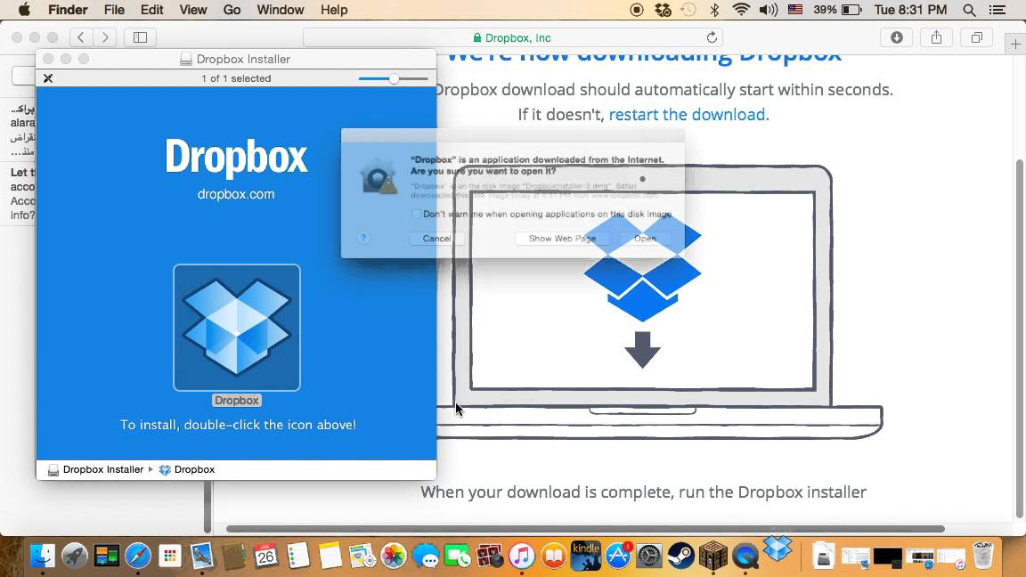 How to Uninstall Dropbox from Mac?
