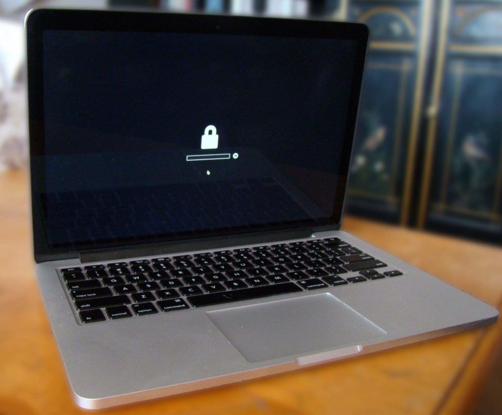 remove firmware password on MacBook Air