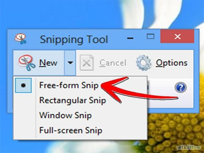 How to take a screenshot in Windows 7